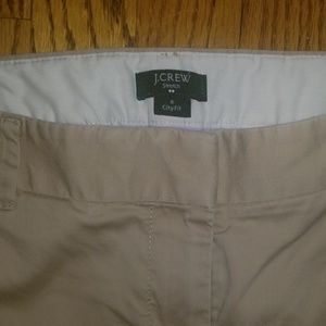 J. Crew Pants - J.Crew khaki stretch city fit ankle pants 8